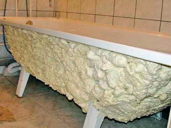 Теплопотери ванны, утепление