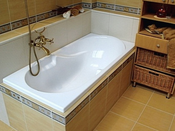 Получаем акриловую ванну