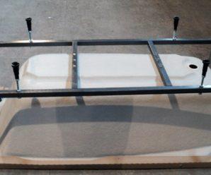 Как установить и подключить акриловую ванну