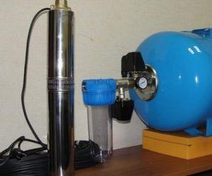 Водопровод из колодца — как делается