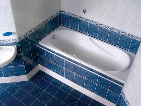 Обычный дизайн для ванной