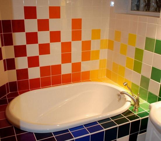 красивый экран для ванной