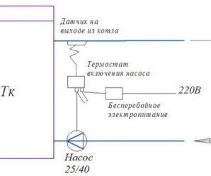 Обвязка твердотопливного котла – схемы