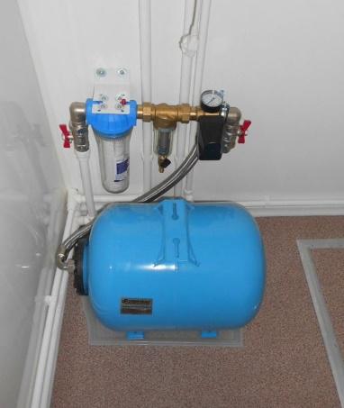 оборудование водоснабжения в доме