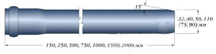 длины труб для канализации