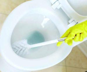 Как очистить унитаз от отложений