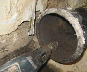 Как заменить чугунную канализацию на пластиковую, способы стыковки