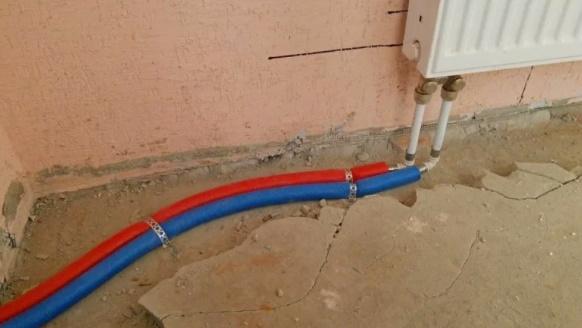 Подключение радиатора в тупиковой схеме
