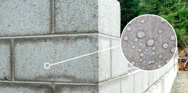 Намокание газобетона - точка росы в стене