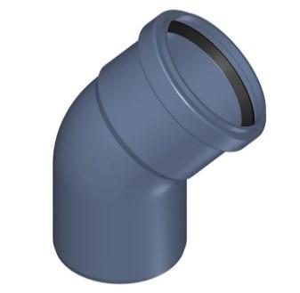 угол для канализационных труб